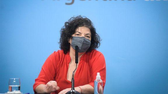 """Vizzotti: """"La prioridad uno del gobierno es completar los esquemas de vacunación"""""""