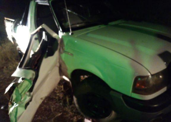 Una mujer falleció tras el vuelco de la camioneta en la que viajaba como acompañante sobre ruta 220