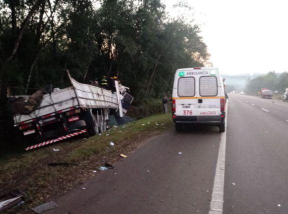 Dos heridos tras un accidente ocurrido sobre ruta 14 entre Alem y Cerro Azul