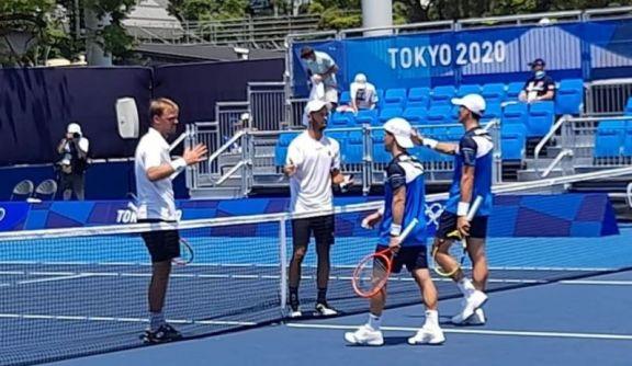 JJ.OO: Schwartzman y Bagnis quedaron eliminados en el dobles masculino