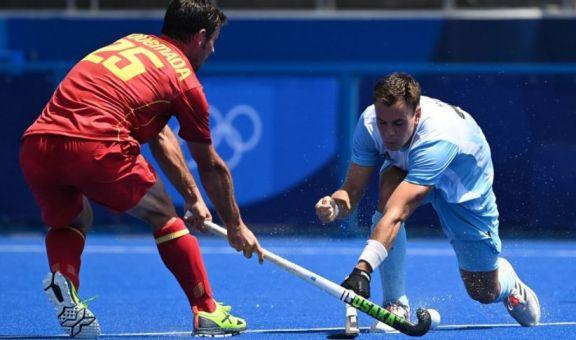 JJ.OO: Los Leones empataron con España en su presentación en Tokio