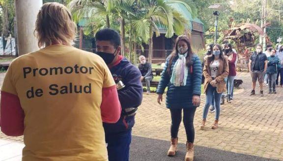 Iguazú: continua el operativo de vacunación en toda la ciudad