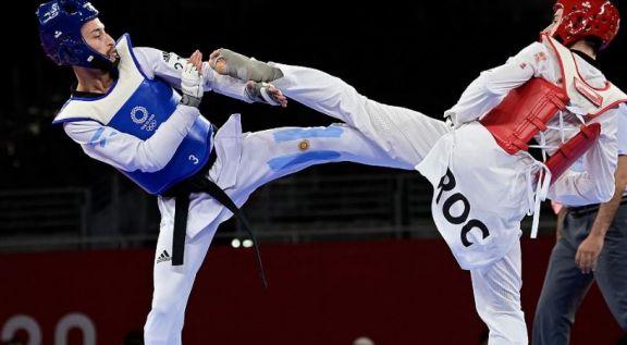 JJ.OO: Lucas Guzman cayó ante el ruso Mikahil Artamonov y no alcanzó el bronce en taekwondo