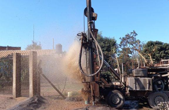 Finalizaron las obras de pozos perforados previstos en el plan de contingencia en Iguazú