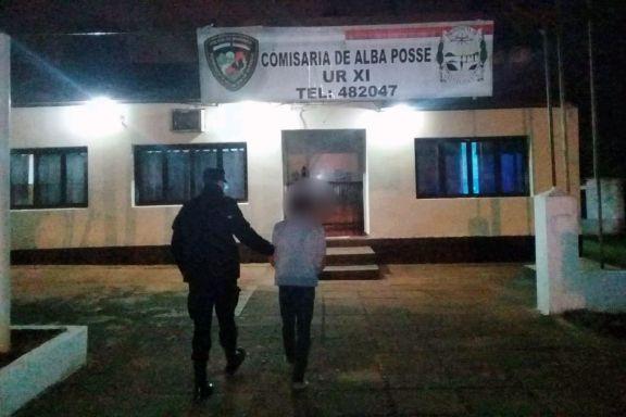 Alba Posse: atacó a golpes a un joven y terminó detenido