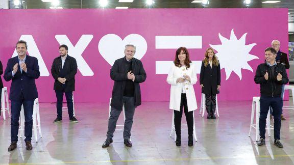 El Frente de Todos reveló sus cartas electorales para las elecciones 2021