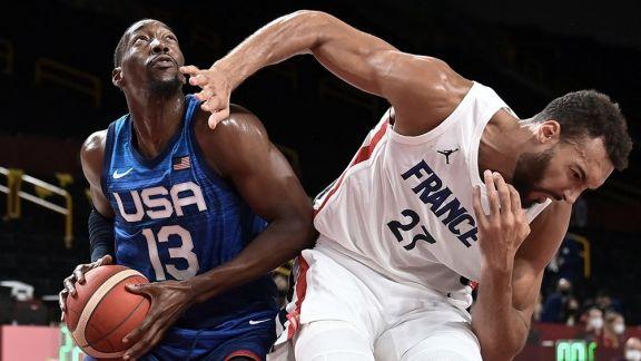 JJOO: Francia dio el golpe en el debut del Dream Team de Estados Unidos