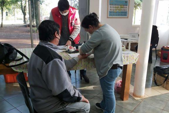 Exitosa jornada de donación de sangre en Montecarlo