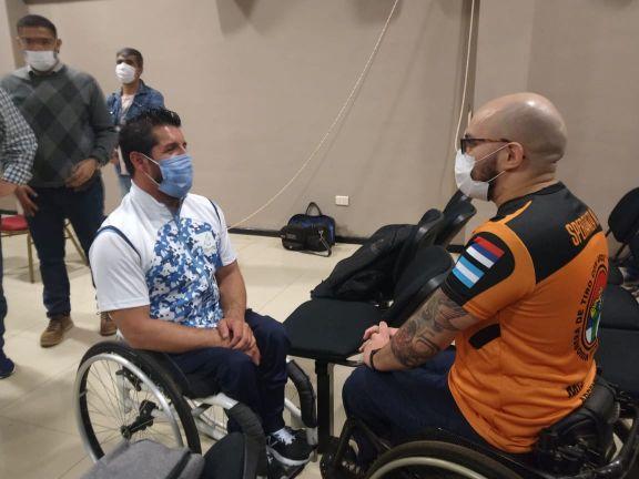 Alejandro Maldonado compartió su experiencia como atleta paralímpico