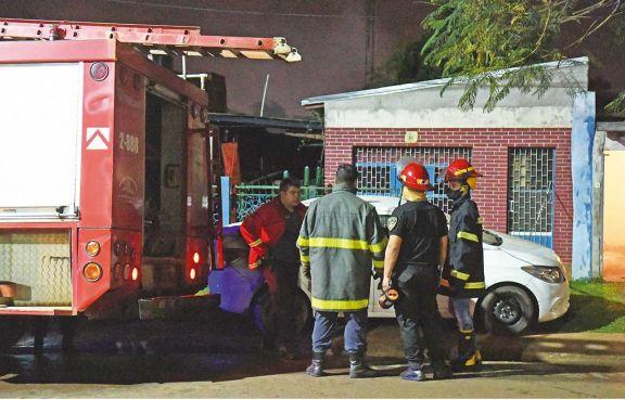 Vecino del barrio Jardín falleció tras quedar atrapado en un incendio