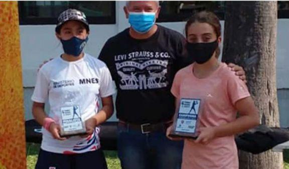 Misiones brilló en el Regional de Tenis de Menores en Corrientes