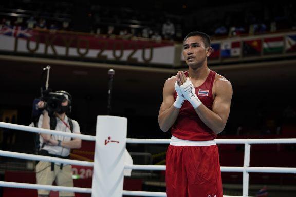 JJOO: El boxeador argentino Mirco Cuello perdió en octavos de final ante el tailandés Decha Tha Butdee