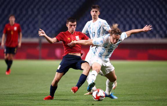 JJ.OO: La Selección Argentina de fútbol empató ante España y quedó eliminada