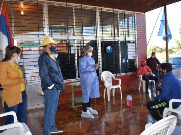 Líderes sociales y religiosos buscarán motivar a los pobladores de Pozo Azul a vacunarse contra el coronavirus