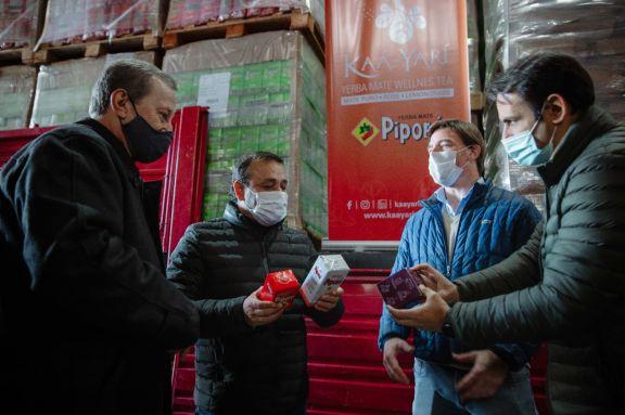 Misiones generó su primera exportación de yerba mate a India