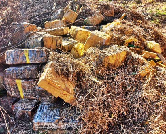 Hallan 3.800 kilos de marihuana de  la banda que cayó en General Urquiza