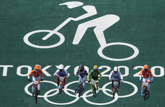 JJOO: El argentino Torres accede a semifinales tras finalizar cuarto en su serie en ciclismo BMX