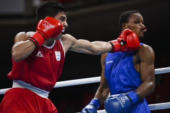 JJOO: Verón queda al margen en el boxeo de Tokio en fallo dividido y controversial