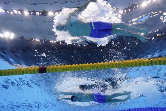 JJOO: Santiago Grassi no pudo clasificar en los 100 metros mariposa de su serie en los Juegos de Tokio