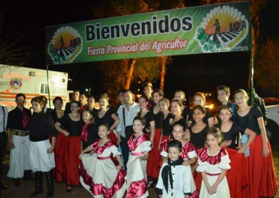 Los organizadores de la Fiesta Provincial del Agricultor expectantes para su realización