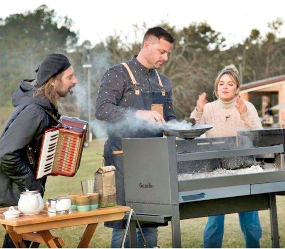 Cocineros Argentinos y el Chango Spasiuk visitaron la provincia