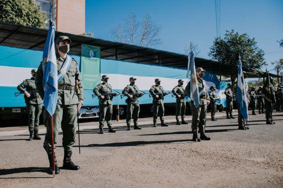 Conmemoraron en Posadas el 83° aniversario de la Gendarmería Nacional