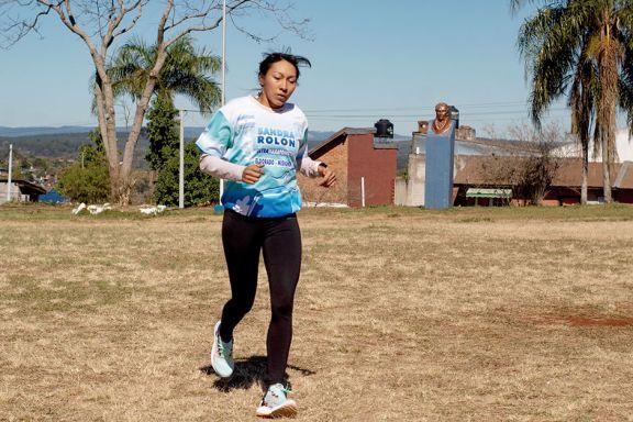 Sandra Rolón, de Eldorado a Grecia para ultramaratón