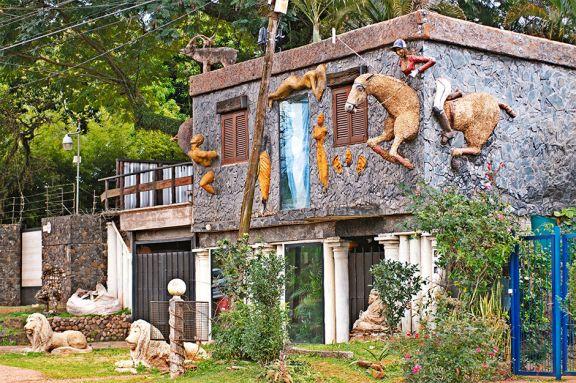 La casa de las esculturas