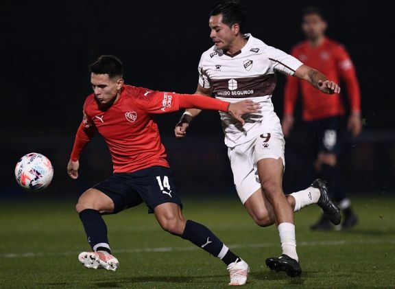 Liga Profesional: Independiente igualó con Platense y sigue arriba