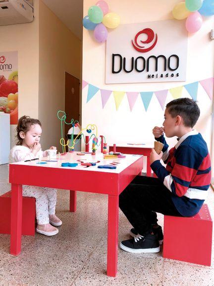 En Duomo disfrutá del mes de la infancia en su espacio de juegos
