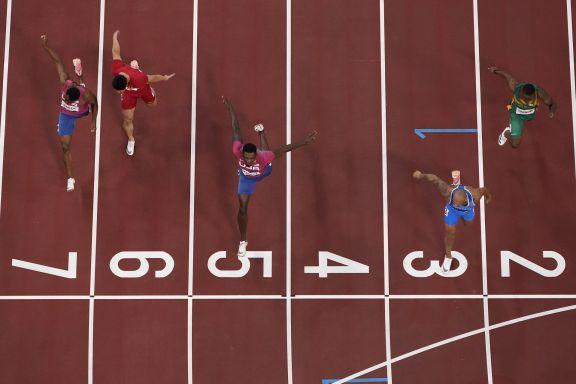 JJOO: El italiano Jacobs sorprendió siendo el más rápido en la final de los 100 metros