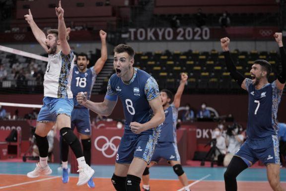 JJOO: Argentina venció a Estados Unidos y pasó a cuartos de final en voley