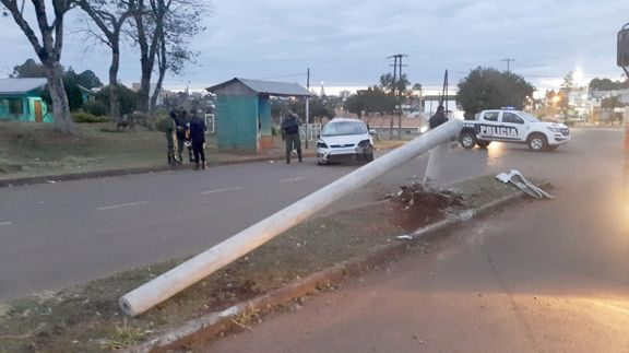 Despistó auto con cinco gendarmes a bordo: un muerto