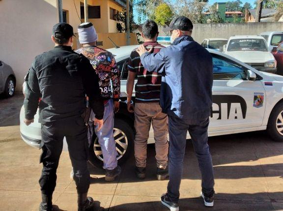 Atraparon a los motociclistas que golpearon ferozmente a un sereno en San Pedro