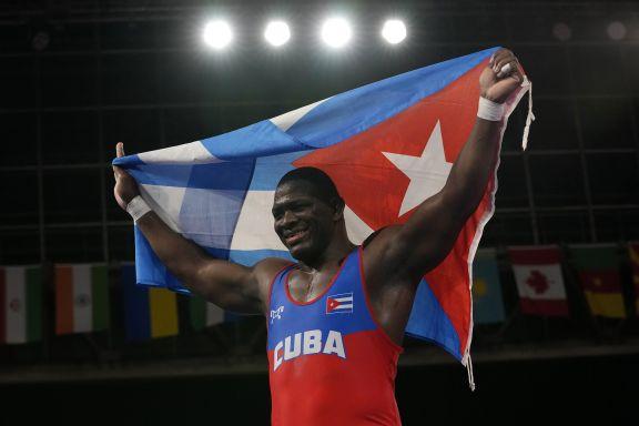 JJOO: El luchador cubano Mijaín López ganó su cuarto oro olímpico en Tokio 2020