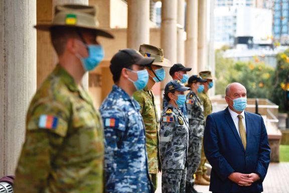 Australia puso militares en las calles para controlar el confinamiento