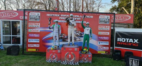 Grimaldi fue segundo en la quinta fecha de la Rotax Bue en Ciudad Evita