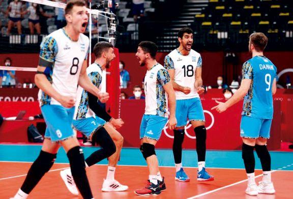 Triunfazo y pase a semifinales del vóley argentino