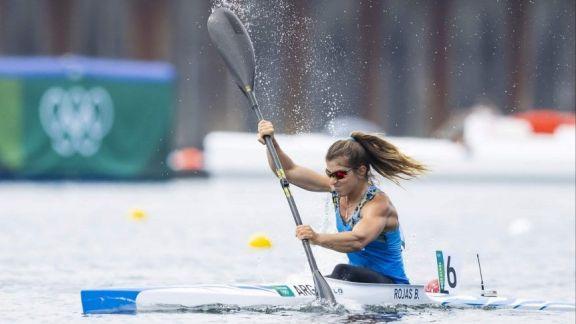 JJ.OO: Brenda Rojas clasificó a las semis del K1 500 metros de canotaje