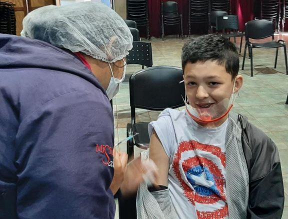 Continúa la campaña de vacunación en Montecarlo