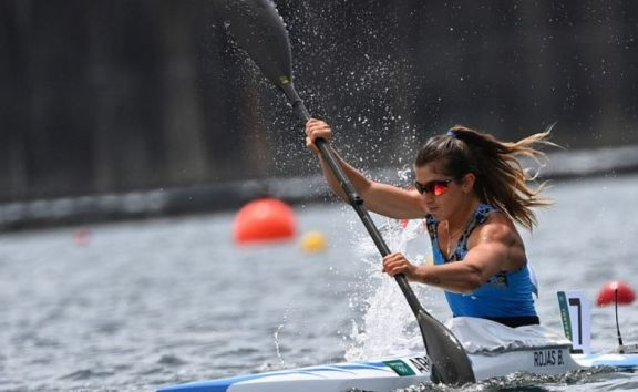 JJ.OO: la kayakista Brenda Rojas terminó su participación en la competencia