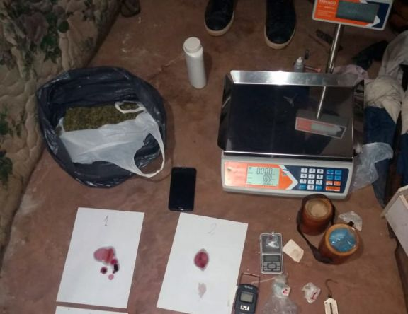 Candelaria: desbaratan kiosco narco tras operativo en el barrio Paso Viejo