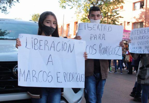 Eldorado: marcharon pidiendo el cambio de carátula en la causa en la que está imputado Marcos Rodríguez