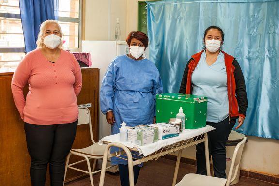 Abren vacunatorio en el Pediátrico para niños con factores de riesgo