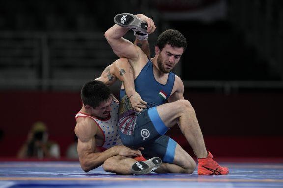 JJOO: El cordobés Destribats cayó dignamente ante el húngaro Muszukajev en octavos de lucha libre