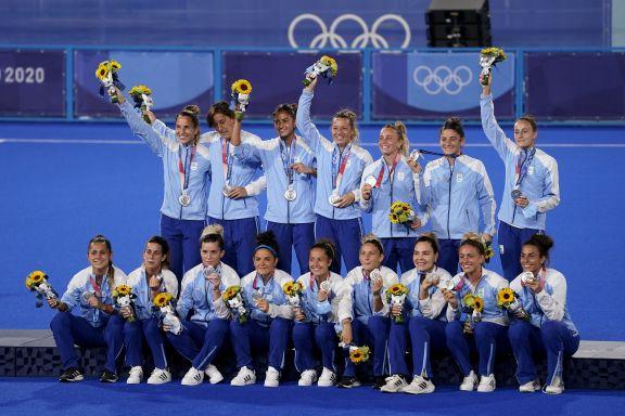 JJOO: Argentina es medalla de plata en hockey femenino