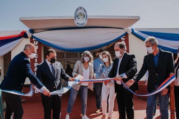 El gobernador Herrera Ahuad anunció que construirán un hospital en Campo Ramón