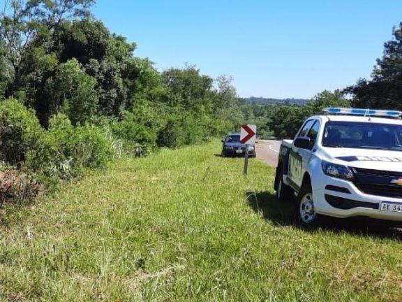 Cerro Azul: identificaron al hombre que murió atropellado en la ruta 14