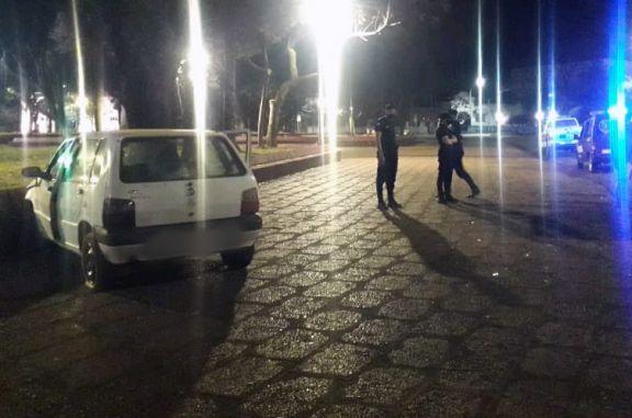 Automovilista alcoholizado despistó y terminó detenido en Apóstoles