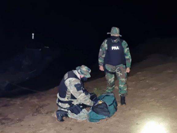 Prefectura secuestró más de 110 kilos de marihuana en Eldorado y Santa Ana
